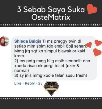 testimoni ostematrix shaklee untuk ibu czer pregnant twin