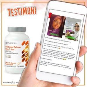 testimoni vitamin c shaklee imuniti
