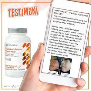 testimoni vitamin c shaklee parut