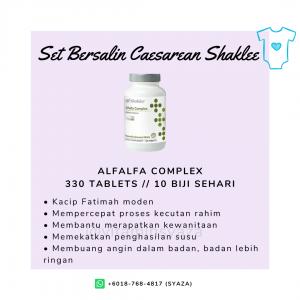 alfalfa shaklee set czer caesarean