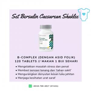 b-complex shaklee set czer caesarean