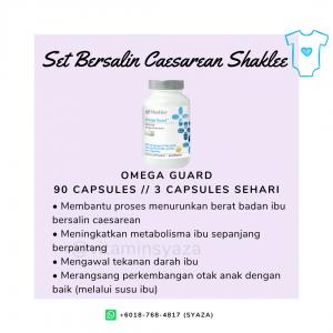 omega guard shaklee set czer caesarean