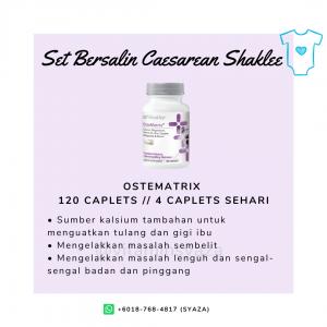 ostematrix shaklee set czer caesarean