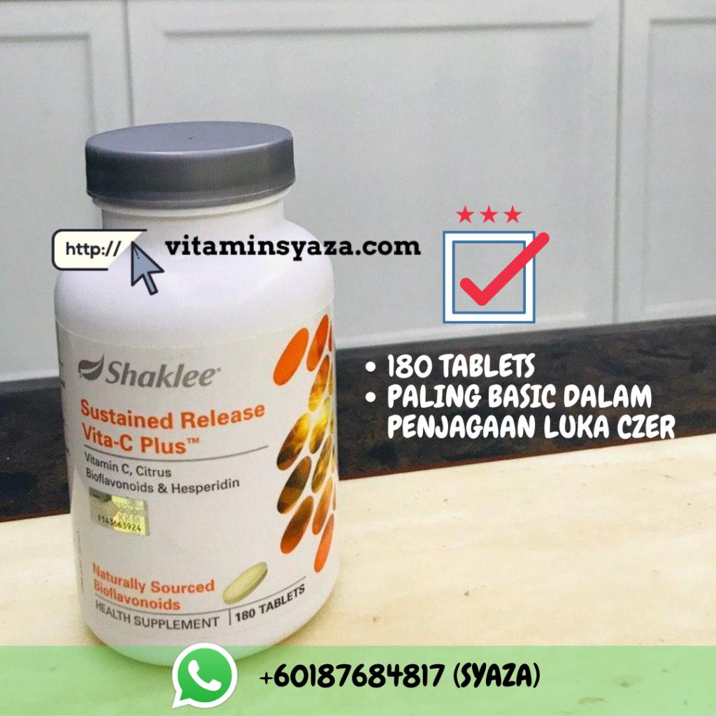set cadangan shaklee luka czer caesarean vitamin c shaklee