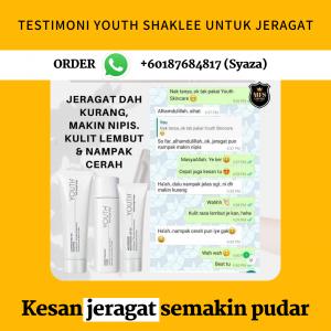 Testimoni YOUTH Shaklee Untuk Masalah Kulit Jeragat Berjeragat