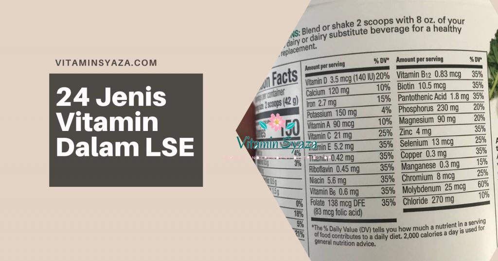 24 jenis vitamin dalam life shake elderberry